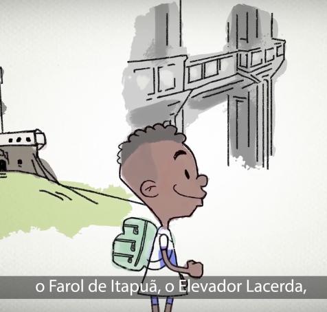 Prefeitura de Salvador – Nossa Rede | Animação 2D